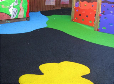 Wet Pour Play Area